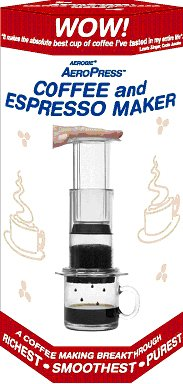 Aeropress Coffee Maker Dishwasher Safe : 2012 Foodcrypt Gift Guide Food Crypt